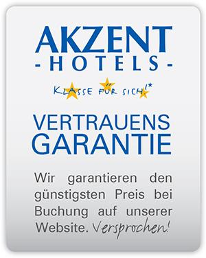 AKZENT Hotels Vertrauens Garantie